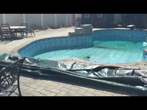 Loop Loc Safety Cover Removed From Pool