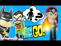 Teen Titans Go Toys Robin Searches For Gizmo Red X From Teen