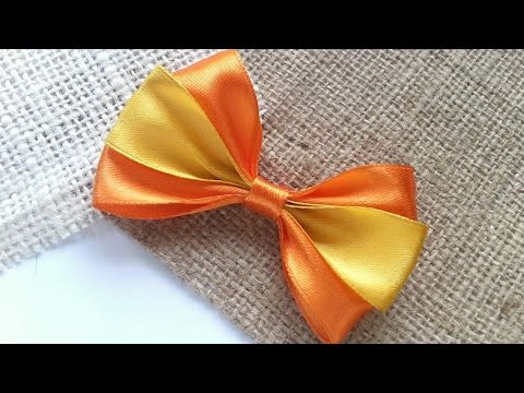 How To Create A 3 Strand Satin Ribbon Bow - DIY Crafts Tutorial - Guidecentral