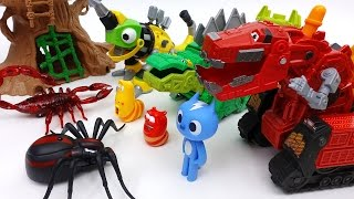 Go Go Dinotrux! Protect Dinosaur Park from Monster Bugs