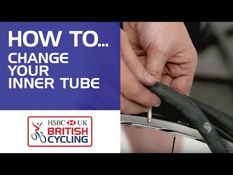 How to change your inner tube on your bike