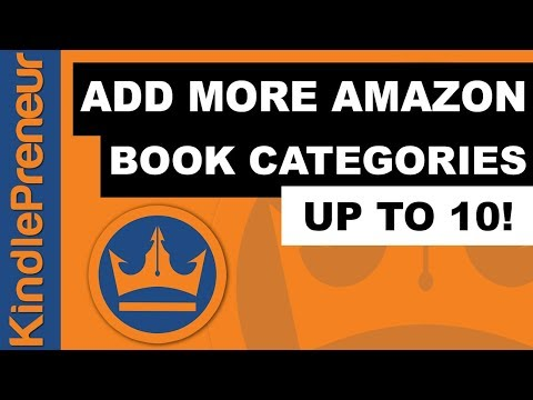 How to Add More Amazon Book Categories to Your Book (You can Rank For 10!)