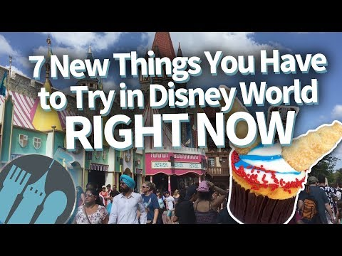 Disney World's 7 NEWEST Eats You Have to Try RIGHT NOW!