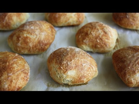 No Knead Crusty Rolls - Easier Than You Think!