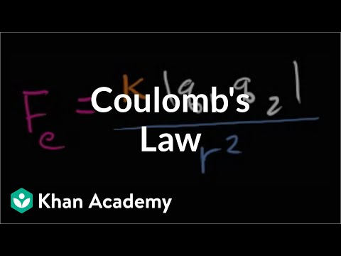 Coulomb's Law | Electrostatics | Electrical engineering | Khan Academy