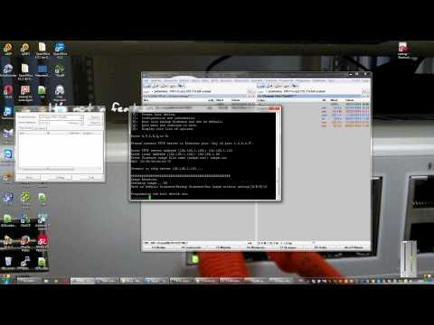 Fortigate TFTP Firmware installation