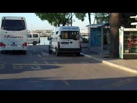 Catamaran from Split to Hvar town