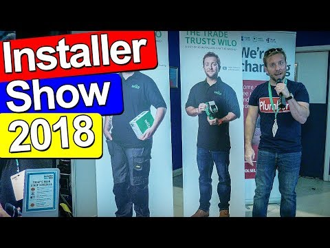 INSTALLER SHOW 2018 - Includes Pipe Lagger Pro Chat!