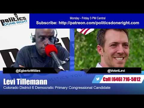 Levi Tillemann Interview Progressive Steny Hoyer tried to bully out of Colorado Democratic Primary