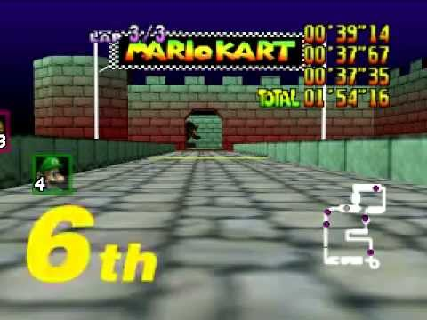 Mario Kart 64 on Steroid! (600cc Race!)