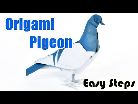 How To Make Pigeon From Paper | Creative Origami Art | Easy Crafting Steps