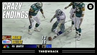 The CRAZIEST Thanksgiving Game Ending! (Dolphins vs. Cowboys, 1993)