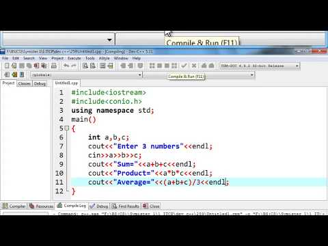 Program#1__Input 3 numbers & find their sum,product & average