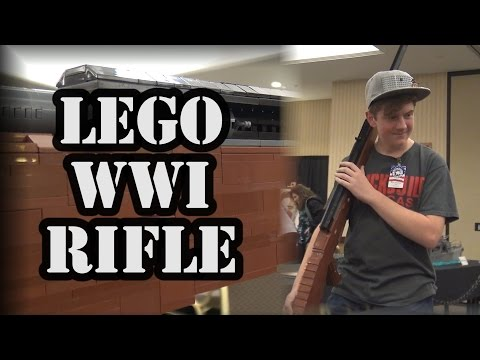 Life-Size LEGO WWI Tank Rifle