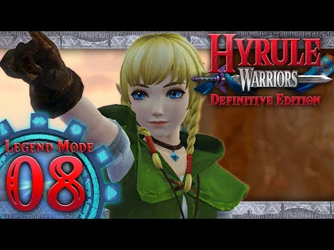 Hyrule Warriors: Definitive Edition - Part 8 - Powers Collide (Lake Hylia)