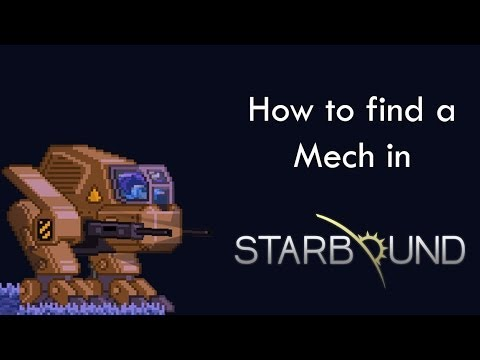 How To get the Mech Tech - Starbound - Angry Koala - Cords in Description