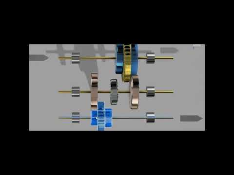Lathe All geared Headstock - best explanation with  3D Animation