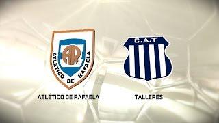 Fútbol en vivo. Rafaela vs. Talleres. Fecha 10. Torneo de Primera División 2016/2017. FPT