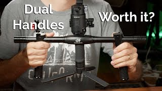 Handles and support for DJI Ronin S / SC - Moza Air 2 - Crane 2