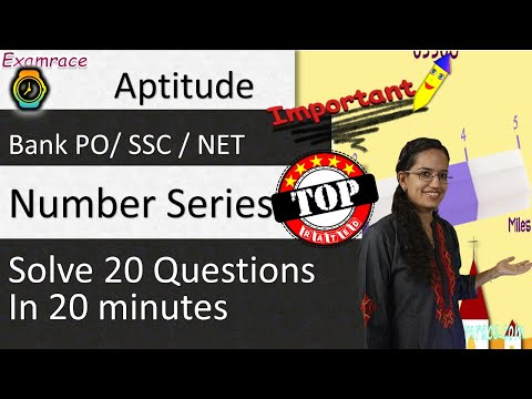 Number Series: Solve 20 Questions in 20 minutes (Testing Tuesdays) - CSAT/ Bank PO/ SSC / NET