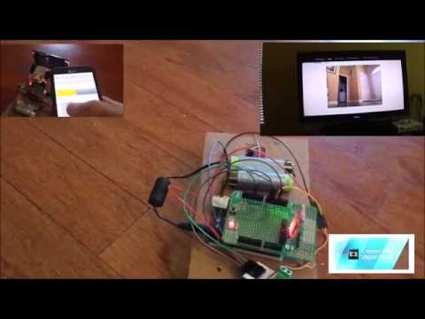 robot with wireless camera that you can build easily!