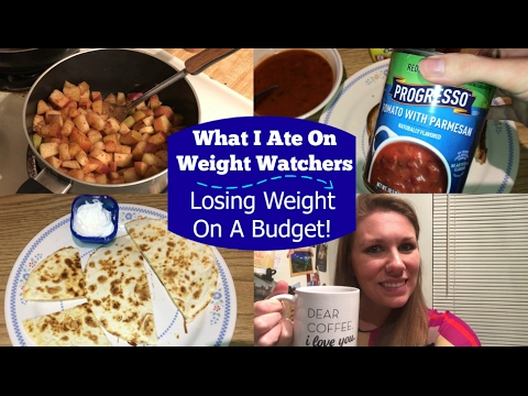 What I Ate | Weight Watchers Smart Points | Losing Weight On A Budget