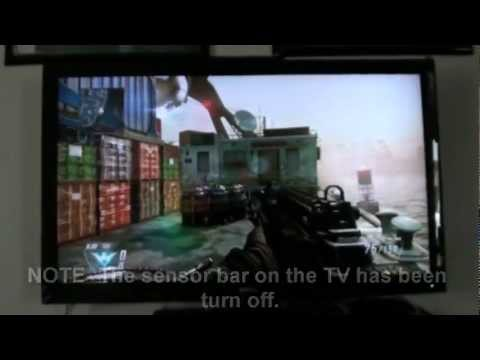 How to turn on the Sensor Bar on the Wii U Game Pad (Black Ops 2)