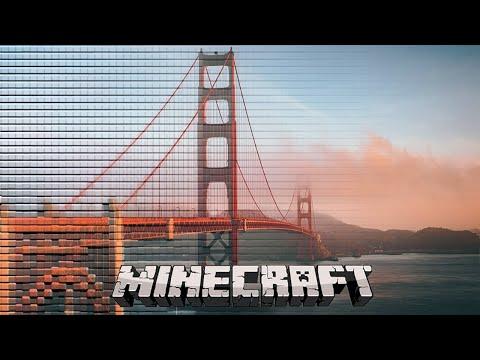 Minecraft - Golden Gate Bridge [200'000 blocks]