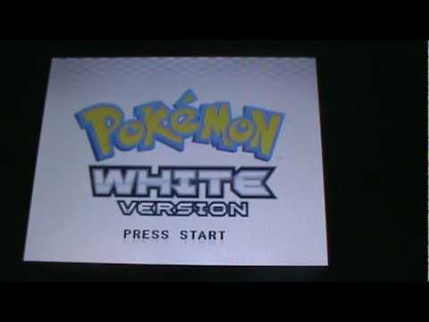 how to delete data from pokemon white/black