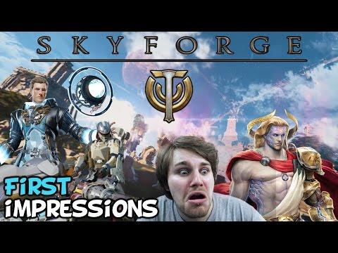 Skyforge Beta First Impressions