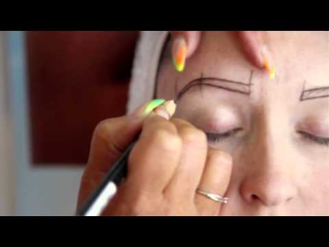 Hair Stroke Tattooed Eyebrows - Lindsay Lambert (2015)
