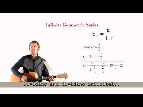 Algebra Man - Infinite Geometric Series