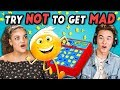 Teens React To Try Not To Get Mad Challenge 4 (Ft. Laurie Hernandez) mp3