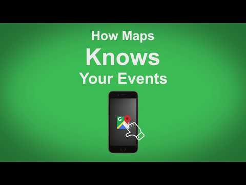 Google Maps   How Maps Knows Your Events