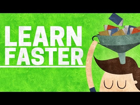 How to LEARN FASTER | 5 Easy Steps To Quicker Learning
