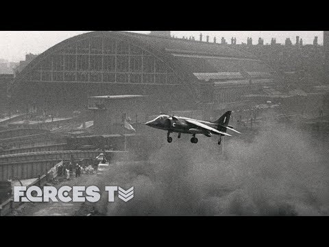 Finding A Home For The Harrier That Crossed The Atlantic | Forces TV