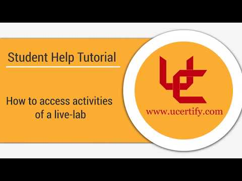 How to access activities of a live lab