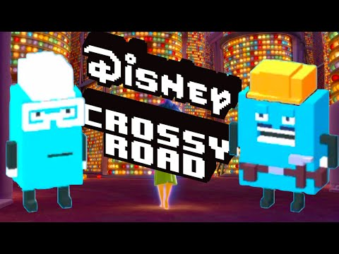 how to unlock INSIDE OUT Secret Characters in DISNEY CROSSY ROAD | iOS, Android