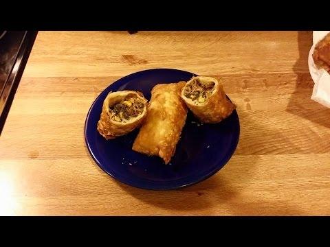 Southwest Pulled Pork Eggrolls