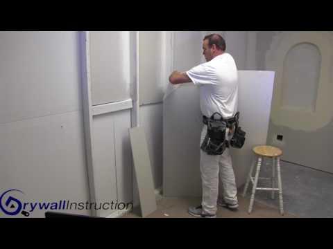 Cutting Drywall -  Angles - Drywall Instruction