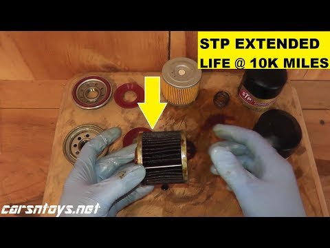 STP Extended Life Oil Filter Review After 10k Miles