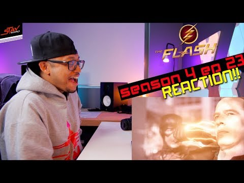 Ultra Instinct Devoe! The Flash Season 4 Finale Reaction! 4x23