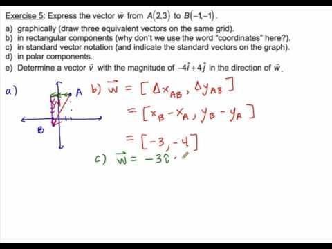 1.1 Vectors Ex. 5,6