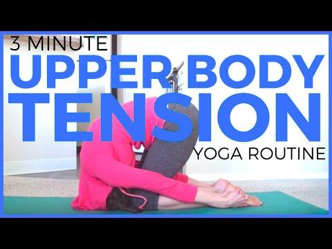 Yoga for Upper Back Tension | Neck & Shoulder Tension | SarahBethYoga