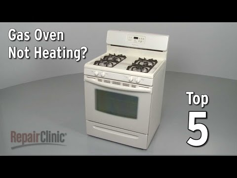 Top 5 Reasons Gas Oven Won't Heat — Gas Range Troubleshooting