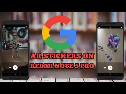ar stickers redmi note 5 pro  redmi note5/ 5 pro ar stickers installing guide  pixel ar stickers
