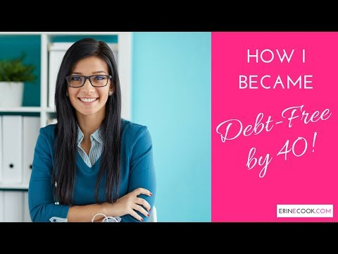 Get Out of Debt Fast Plan - How I was Debt-Free by 40!