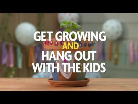 It's Time to Get Growing and Hang Out With the Kids