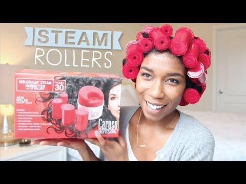 Caruso Steam Rollers First Impression Review + Demo! Natural Hair | Naptural85