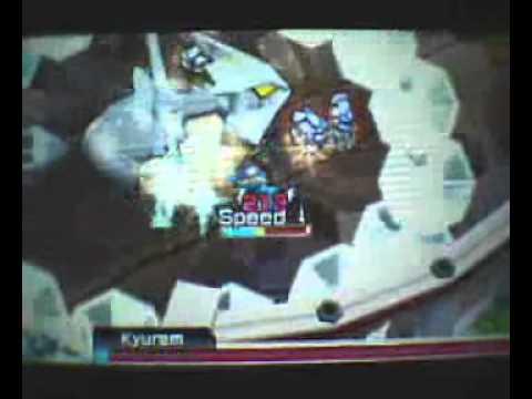 Pokemon Rumble Blast -Kyurem Boss